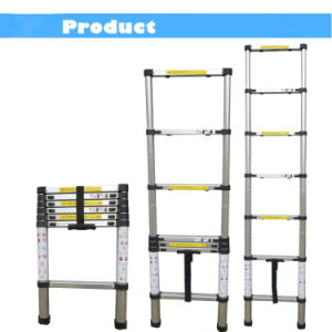 2.6m Aluminum Telescopic Ladder with En131 pictures & photos