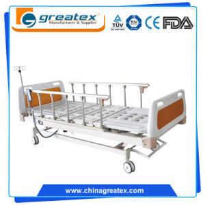 Hospital Equipment Multi-Function Electric Medical Bed with Remote Handset Control pictures & photos