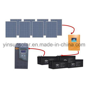 Factory Direct Sale a Set of off-Grid 3000W PV System pictures & photos
