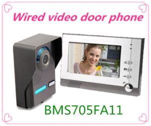 Hand Free Home Security Tool Video Door Phone Door Bell pictures & photos