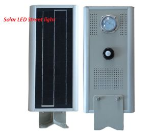 IP68 8-80W Outdoor Solar Garden LED Street Light with Sensor pictures & photos