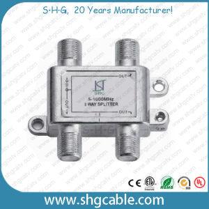 5-1000MHz 3 Way Indoor CATV Splitter (SPDR-3W) pictures & photos