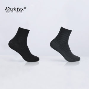 2017 New Sale Anti-Bacterial Silver Fiber Socks For Men pictures & photos