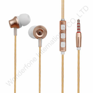Color Yellow High Quality Semi Open Earphone pictures & photos