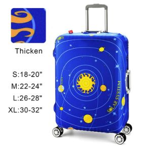 Travel Protect Luggage Against Damages Custom Spandex Luggage Cover pictures & photos
