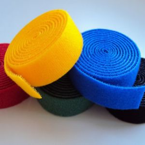 Nylon Hook and Loop Cable Tie Roll pictures & photos