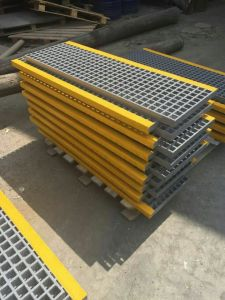 Kick Plate /FRP Channel/ Fiberglass Profiles/ FRP Shapes/ Profiles pictures & photos