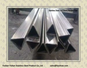 316 Stainless Steel Welded Special Shaped Pipe pictures & photos