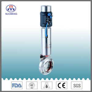 Sanitary Pneumatic Actuator Intelligent Positioner Butterfly Valve pictures & photos