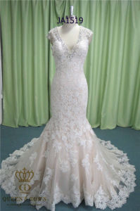 Factory Real Custom Made Sexy Mermaids Wedding Dress Women Party Evening Gown pictures & photos