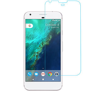 Clear Tempered Glass Screen Protector for Google Pixel 2