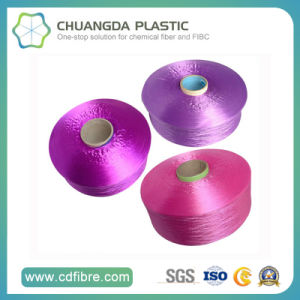 High Tenacity Yarn Fine Denier PP Multifilament Yarn for Clothes FDY pictures & photos