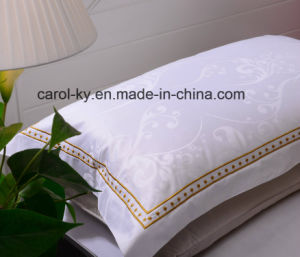 Jacquard Design Embroidery Decoration Hotel Bed Sheet pictures & photos