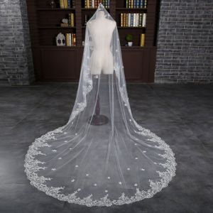 Brand New Cathedral Length 3 Meter Ivory Wedding Bride Veil pictures & photos