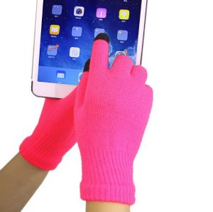 Colourful Touch Screen Fashion Gloves pictures & photos
