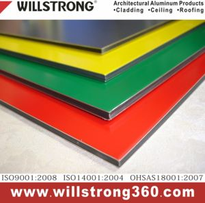 Willstrong Aluminum Composite Panel Nano Self Cleaning pictures & photos