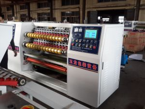 Super Clear Tape Slitter Machine pictures & photos