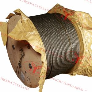 Ungalvanized Steel Cable with ISO9001: 2008-8xk26ws pictures & photos