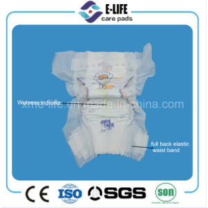 New 3D Suspended Ultra Thin Full Back Elastic Waist Baby Diaper Factory pictures & photos