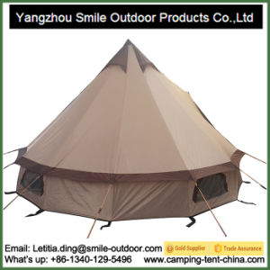 Big Grand Soundproof Canvas Bell Winter Tent pictures & photos