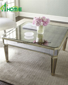 Living Room Furniture Modern Mirrored Coffee Table pictures & photos