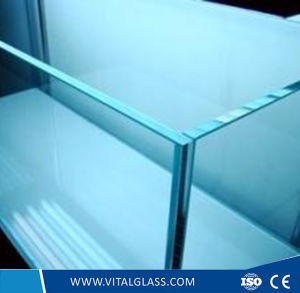 19mm Tempered Glass Clear Float Glass with CE & ISO9001 pictures & photos