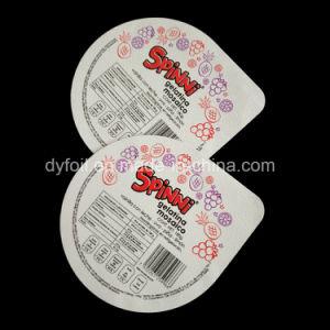 88mm Diameter Ice Cream Cup/PP Cup Foil Lids pictures & photos