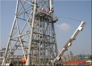 Multi Riser Flare Stack pictures & photos