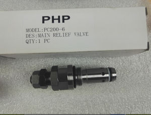 Komatsu Excavator Valve, Relief Valve for PC220-7, PC220-8, Hydraulic Pump Parts for PC220-7, PC220-8 pictures & photos