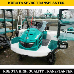 Kubota Riding Spv8c Rice Transplanter, China Kubota Rice Transplanter Spv8c pictures & photos
