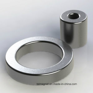 Sintered Permanent Rare Earth Ring Neodymium Magnets pictures & photos