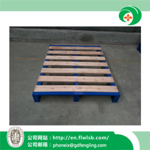 Customized Stackable Steel-Wood Tray for Warehouse with Ce Approval pictures & photos