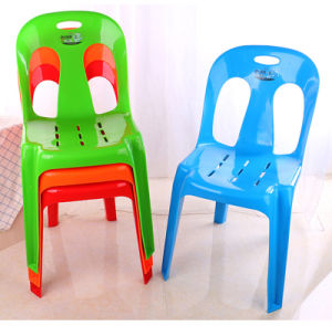 2016 Durable and Comfortable Plastic Armless Chair for Wholesale pictures & photos