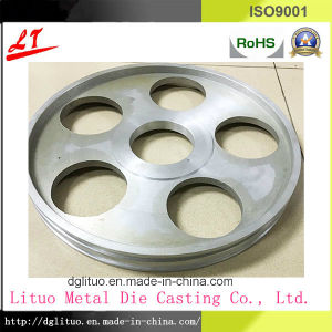 Aluminum Alloy Die Casting Belt Pulley pictures & photos