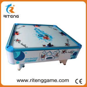 Kids Entertainment Coin-Operated Air Hockey Table for 4 Players pictures & photos