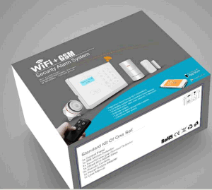 Wireless Home Burglar Security GSM and WiFi Alarm System with RFID Card pictures & photos