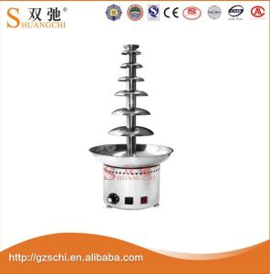 Hot Sale Chocolate Fountain Machine with 7 Layers pictures & photos