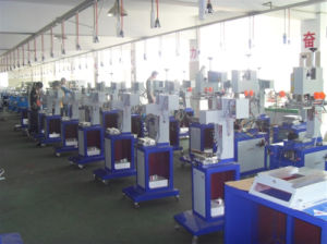 Pneumatic Fast Round Surface Hot Foil Stamping Machine (TGM-100) pictures & photos