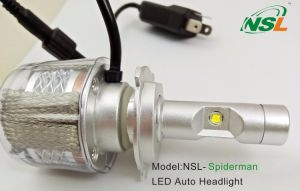 LED Headlight H4 for Car Dual Beam Spiderman H4 LED Car Headlight H13 9004 9007 pictures & photos