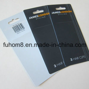 Printed Plastic PP Packing Hang Tag pictures & photos