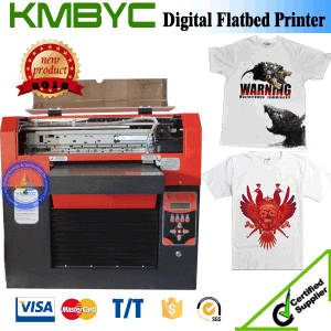 A3 High Speed Digital Flatbed T Shirt and Phone Case Printer Machine Competitive Price pictures & photos