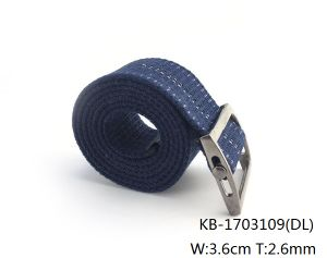 New Fashion Men Woven PU Belt (KB-1703109) pictures & photos