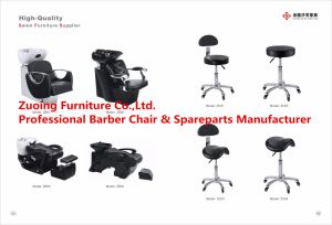 Hair Washing Salon Chair with Wash Bason pictures & photos