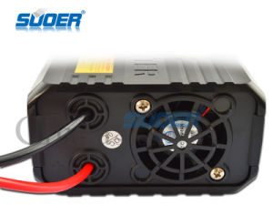 Suoer 1000W DC 12V to AC 220V Power Inverter with Two USB (SAA-1000AS) pictures & photos
