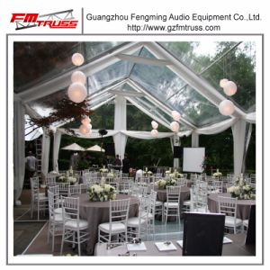 15mx30m Outdoor Garden Wedding Tent with Transparent Roof Marqueeand Clear Wall Tent pictures & photos