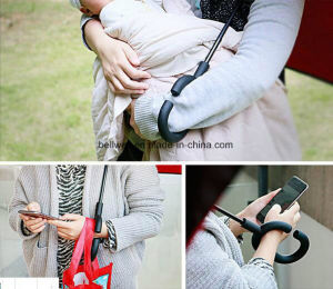 New Items Portable Handsfree Straight Reverse Inverted Umbrella pictures & photos