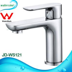 2017 Sleek Hotel Luxury Brass Instant Hot Bathroom Sink Mixer Faucet pictures & photos