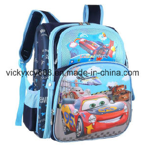 Boys Girls Cartoon Quality Double Shoulder Schoolbag School Bag (CY3328) pictures & photos