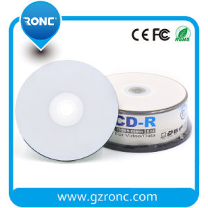 Printable Blank 700MB CD-R with Shrinkwrap Package pictures & photos