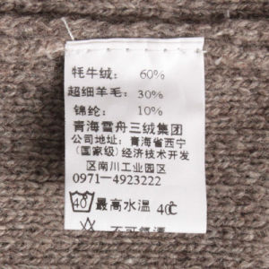 Bn01489 Yak and Wool and Lylon Blended Men′s Knitted Pullover pictures & photos
